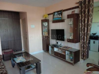 Gallery Cover Image of 870 Sq.ft 1 BHK Apartment for rent in Laxmi Laxmi Nagar Society, Dhanori for 17000