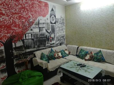 Gallery Cover Image of 800 Sq.ft 1 BHK Independent Floor for rent in Dabri for 8000