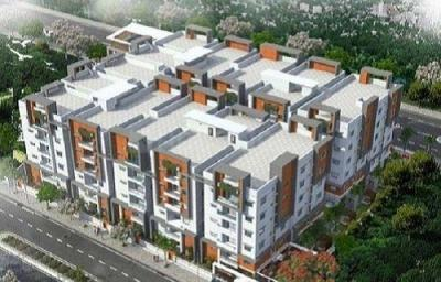 Gallery Cover Image of 1307 Sq.ft 2 BHK Apartment for buy in Narsingi for 7188500
