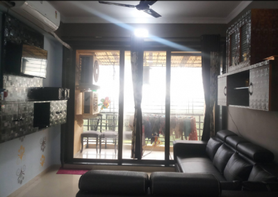 Gallery Cover Image of 1250 Sq.ft 2 BHK Apartment for rent in Airoli for 42000