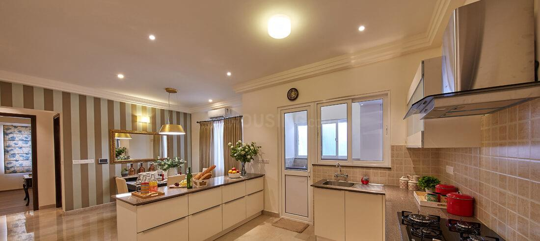 Kitchen Image of 1880 Sq.ft 3 BHK Apartment for buy in Krishnarajapura for 14900000