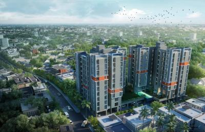 Gallery Cover Image of 931 Sq.ft 2 BHK Apartment for buy in Amarana Residences, Tangra for 4750000