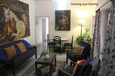 Gallery Cover Image of 1100 Sq.ft 2 BHK Independent Floor for rent in Jones Villa, Jodhpur Park for 35000