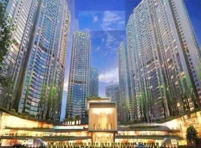 Gallery Cover Image of 1020 Sq.ft 2 BHK Apartment for buy in Adhiraj Capital City Tower Meraki, Rohinjan for 10500000