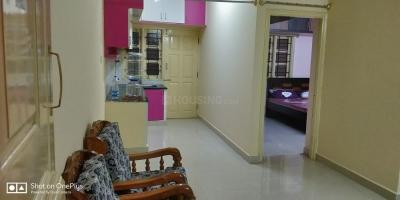 Gallery Cover Image of 1200 Sq.ft 1 BHK Apartment for rent in Kammanahalli for 15000