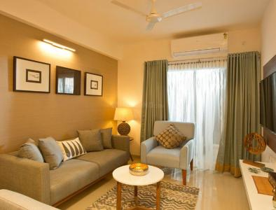 Gallery Cover Image of 1290 Sq.ft 2 BHK Apartment for buy in Mantri Solitude, Injambakkam for 11400000