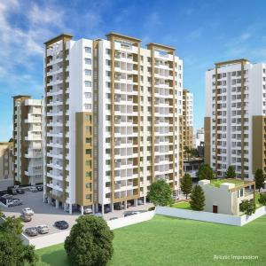 Gallery Cover Image of 628 Sq.ft 1 BHK Apartment for rent in Chirag Grande View 7 Phase V Building J, Ambegaon Budruk for 10500