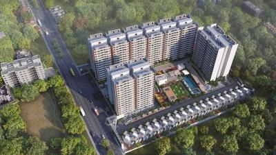 Gallery Cover Image of 1034 Sq.ft 2 BHK Apartment for buy in Dhanori for 4800000
