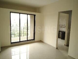 Living Room Image of 605 Sq.ft 1 BHK Apartment for rent in Boisar for 5000