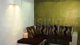 Gallery Cover Image of 600 Sq.ft 1 BHK Apartment for rent in Madhapur for 45000