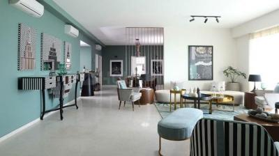 Gallery Cover Image of 6400 Sq.ft 4 BHK Apartment for rent in DLF Magnolias, Sector 42 for 410000