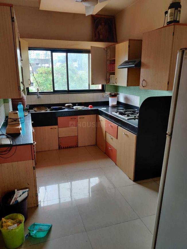 Kitchen Image of 950 Sq.ft 2 BHK Apartment for rent in Kothrud for 28000