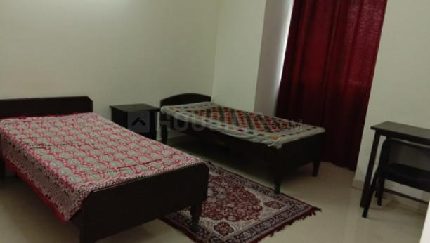 सेक्टर 19 में मन्नत पीजी के बेडरूम की तस्वीर