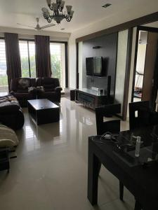 Gallery Cover Image of 1950 Sq.ft 3 BHK Apartment for rent in Progressive Sea Lounge, Belapur CBD for 65000