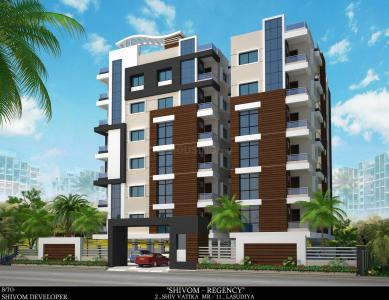 Gallery Cover Image of 631 Sq.ft 1 BHK Apartment for buy in Shivom Regency, Lasudia Mori for 1500000