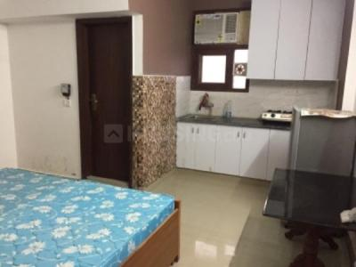 Gallery Cover Image of 400 Sq.ft 1 RK Independent Floor for rent in Malviya Nagar for 17000