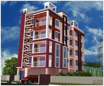 Gallery Cover Image of 521 Sq.ft 1 BHK Apartment for buy in New Town for 2200000