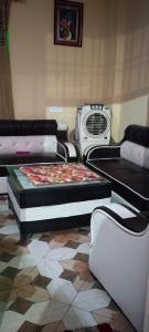 Bedroom Image of Maaz Girls PG in Sector 48