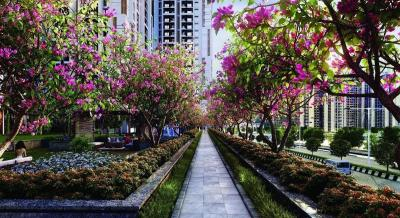Gallery Cover Image of 760 Sq.ft 2 BHK Apartment for buy in MICL Aaradhya Highpark Project 2 Of Phase I, Mira Road East for 11700000