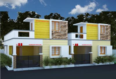 Gallery Cover Image of 625 Sq.ft 2 BHK Apartment for buy in Medavakkam for 4262500