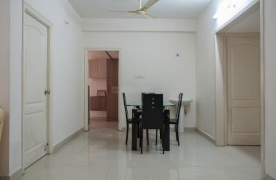 Dining Room Image of 3 Bhk In Manjeera Diamond Towers in Nallagandla