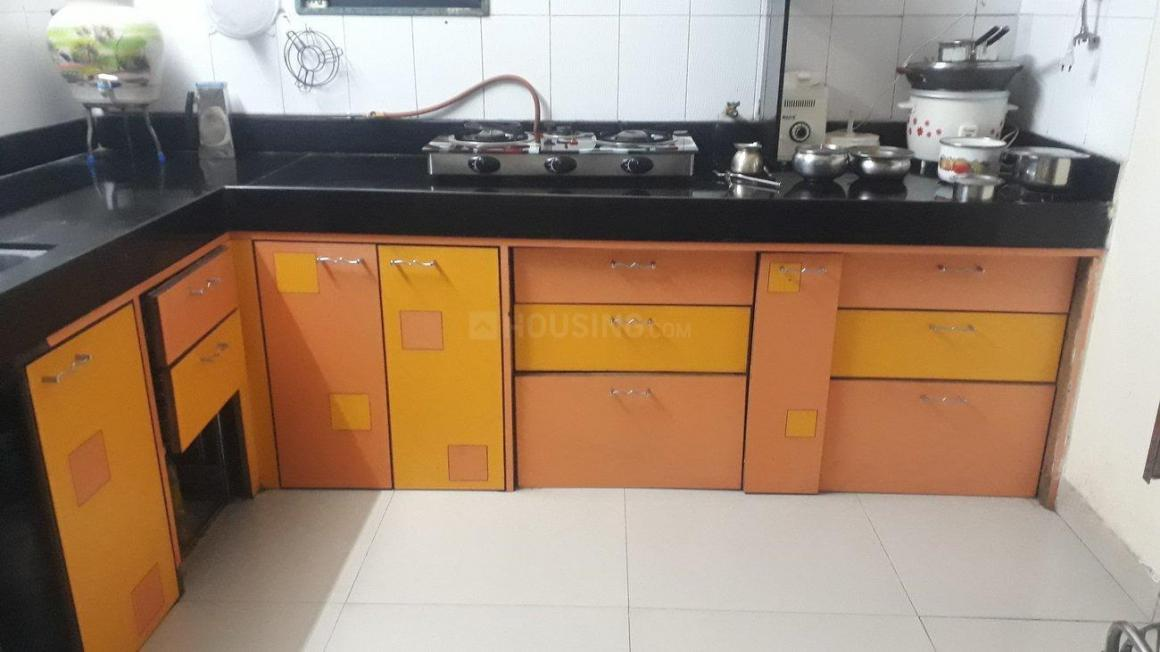 Kitchen Image of 1250 Sq.ft 2 BHK Apartment for rent in Bibwewadi for 24000