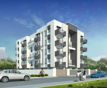 Gallery Cover Image of 493 Sq.ft 1 BHK Independent Floor for buy in Wakad for 2070000
