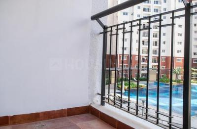 Balcony Image of Prestige Sunrise Park B 3034 in Electronic City