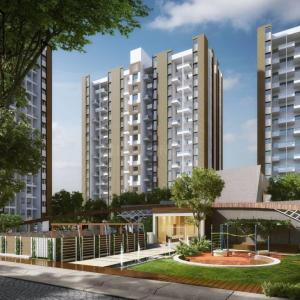 Gallery Cover Image of 978 Sq.ft 2 BHK Apartment for buy in Kesnand for 4960000