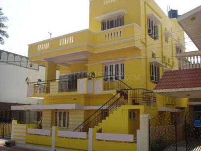 Gallery Cover Image of 650 Sq.ft 1 BHK Independent House for rent in Murugeshpalya for 11000