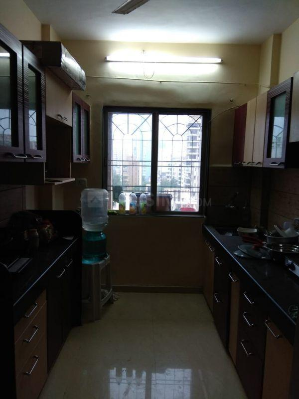 Kitchen Image of 525 Sq.ft 1 BHK Apartment for rent in Malad West for 25000