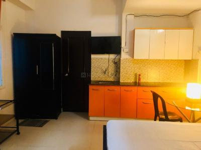 Kitchen Image of Aviss Homes PG in Sector 43