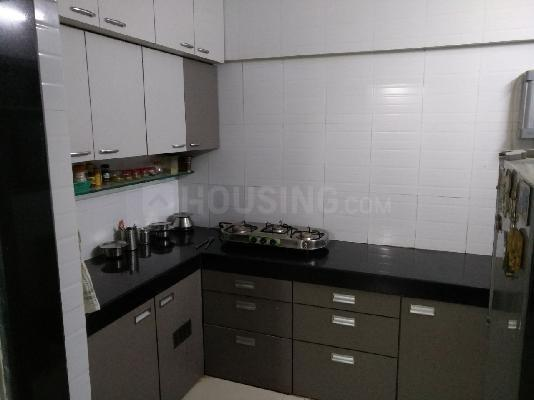 Kitchen Image of 1024 Sq.ft 2 BHK Apartment for rent in Kurla West for 38000