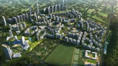 Gallery Cover Image of 1290 Sq.ft 3 BHK Apartment for buy in The Pride World City, Charholi Budruk for 7911111