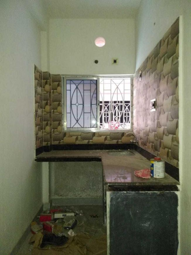 Kitchen Image of 500 Sq.ft 1 BHK Apartment for buy in Behala for 2000000