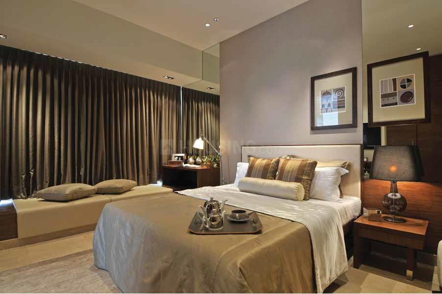 Bedroom Image of 960 Sq.ft 2 BHK Apartment for rent in Thane West for 25000