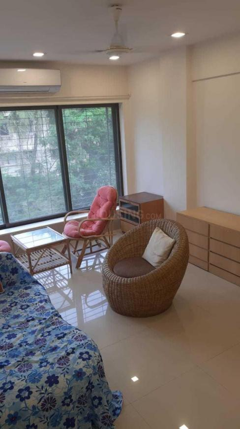 Living Room Image of 500 Sq.ft 1 BHK Apartment for rent in Bandra West for 75000