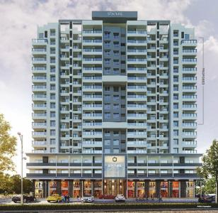 Gallery Cover Image of 1093 Sq.ft 2 BHK Apartment for buy in Dhayari for 7300000