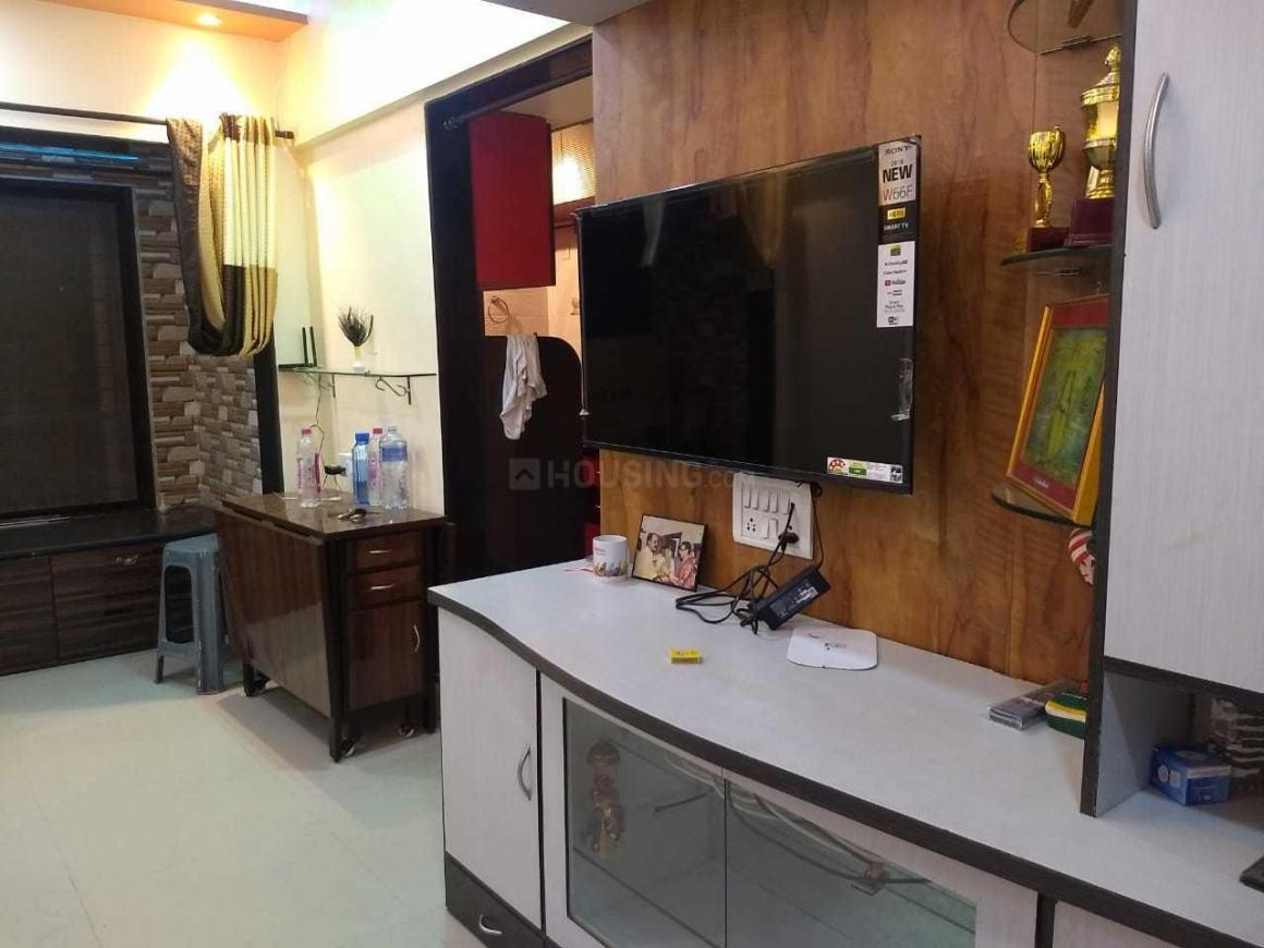 Living Room Image of 650 Sq.ft 1 BHK Apartment for rent in Santacruz East for 40000