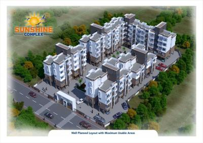 Gallery Cover Image of 600 Sq.ft 1 BHK Apartment for buy in Riddhi Sunshine Complex, Manor for 1850000