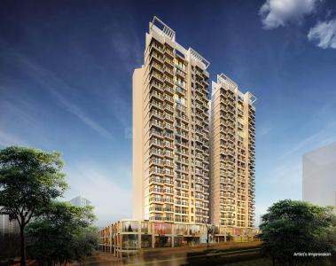 Gallery Cover Image of 1100 Sq.ft 2 BHK Apartment for buy in DLH Ashoka, Thane West for 13400000
