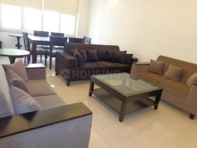 Gallery Cover Image of 1400 Sq.ft 3 BHK Independent Floor for rent in Jangpura for 80000