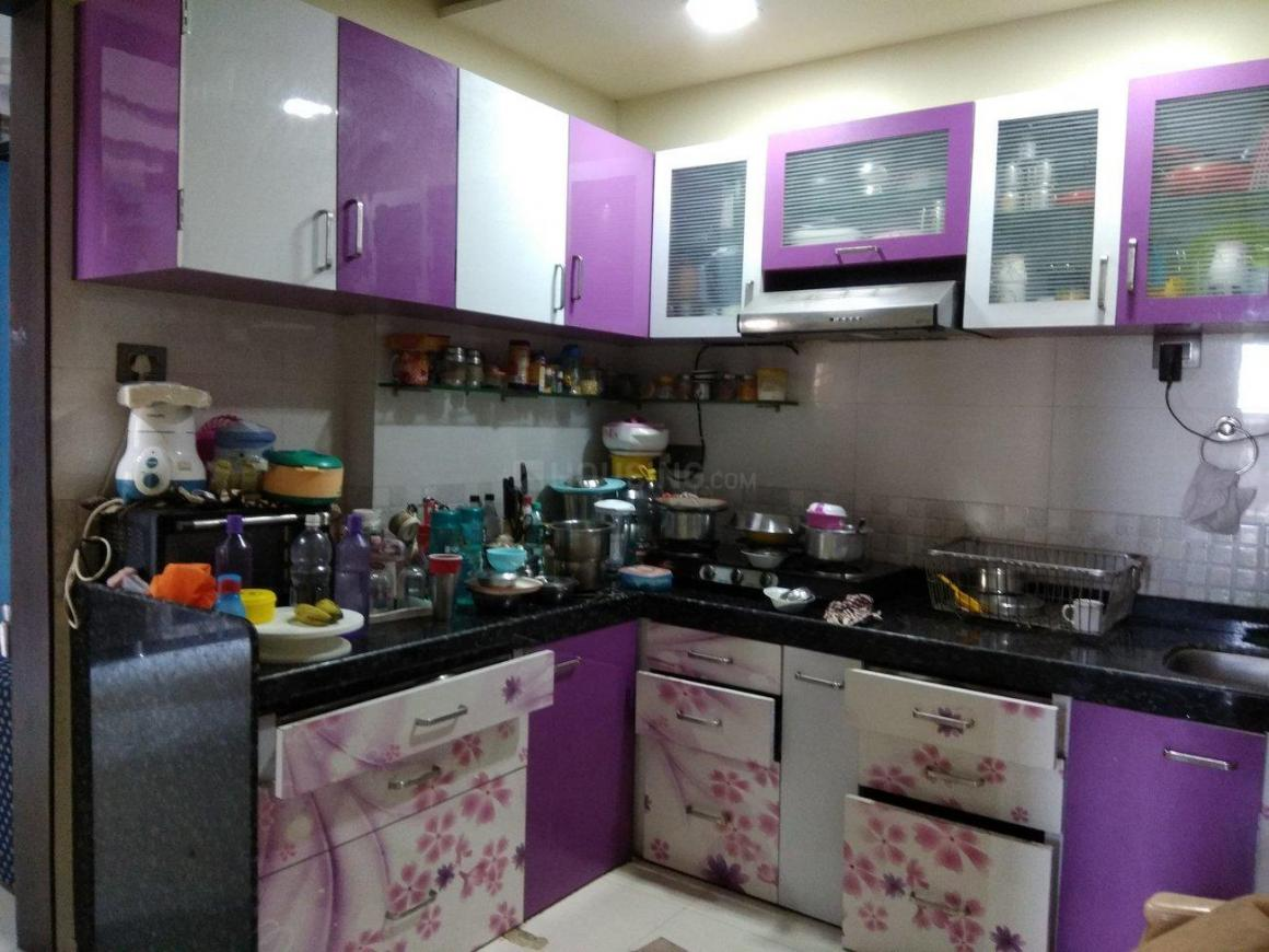 Kitchen Image of 900 Sq.ft 2 BHK Apartment for rent in Kalyan West for 16000