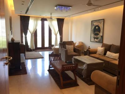 Gallery Cover Image of 3500 Sq.ft 4 BHK Independent Floor for rent in Gulmohar Park for 175000