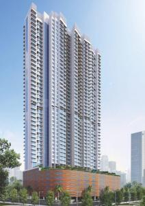 Gallery Cover Image of 1402 Sq.ft 3 BHK Apartment for rent in Romell Aether Wing B1, Goregaon East for 75000