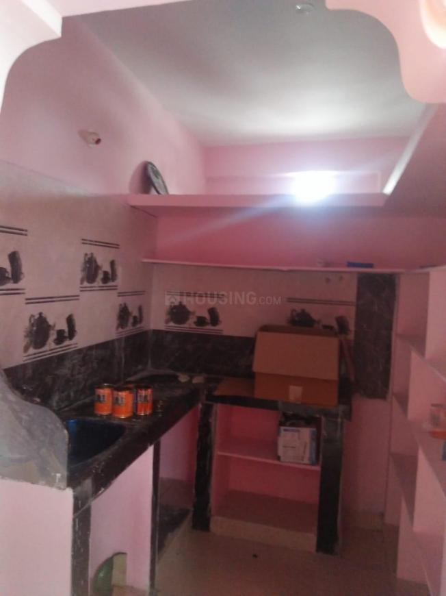 Kitchen Image of 500 Sq.ft 1 BHK Independent Floor for rent in Beeramguda for 8000