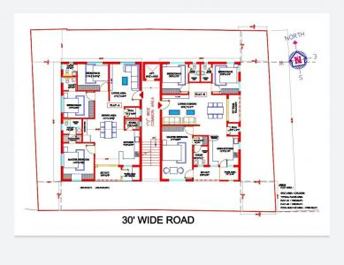 Gallery Cover Image of 1760 Sq.ft 3 BHK Apartment for buy in Nagole for 10180000