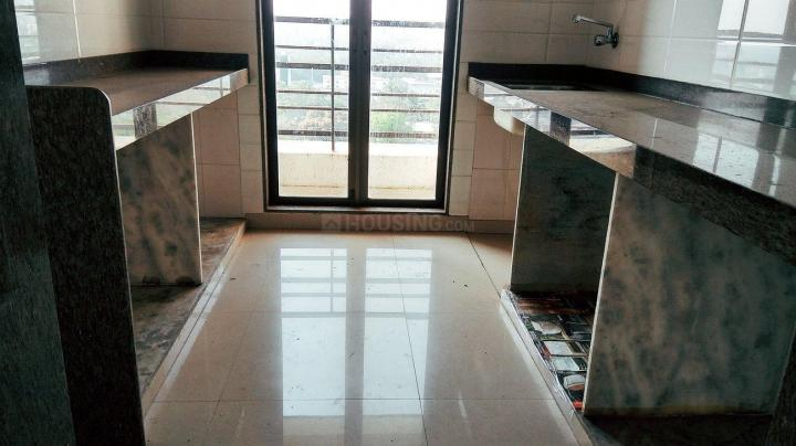 Kitchen Image of 750 Sq.ft 2 BHK Apartment for rent in Mira Road East for 18000