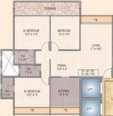 Gallery Cover Image of 1600 Sq.ft 3 BHK Apartment for buy in Shree Krishna Paradise, Kharghar for 19000000