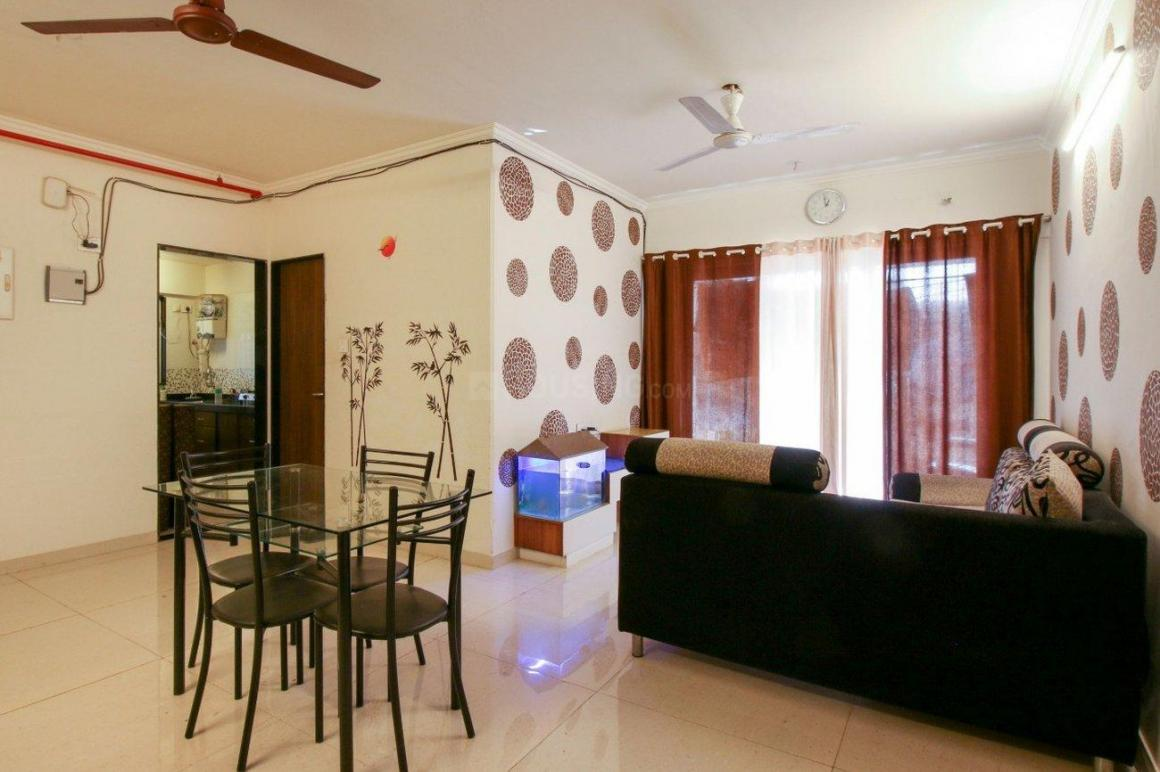 Living Room Image of 750 Sq.ft 2 BHK Independent House for rent in Bandra East for 80000